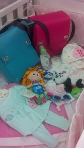 Pranzo baby girl bag