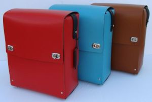 Pranzo Trio of bags - Red, Turg, Chocolate
